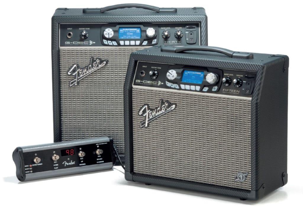 Fender-Verstärker in zwei Größen