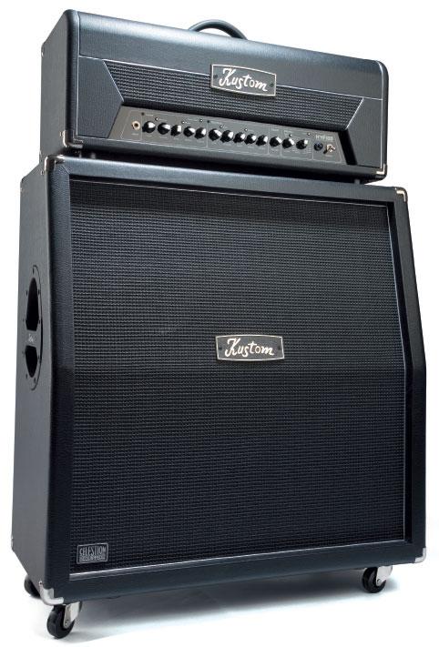 Kustom Top HV100THD und Box HV412, schwarz