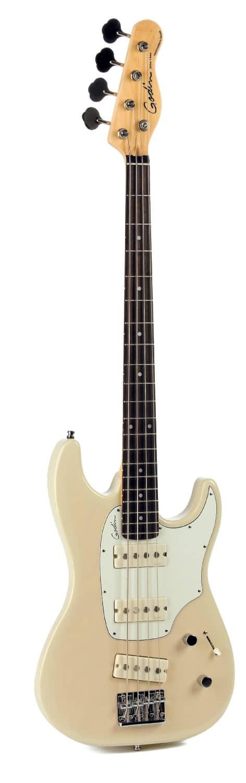 E-Bass von Godin, stehend