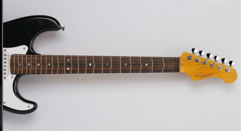 Gitarrenhals einer E-Gitarre