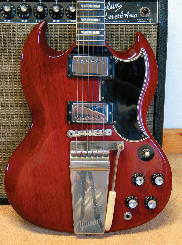 Eine 1964 Gibson SG Standard