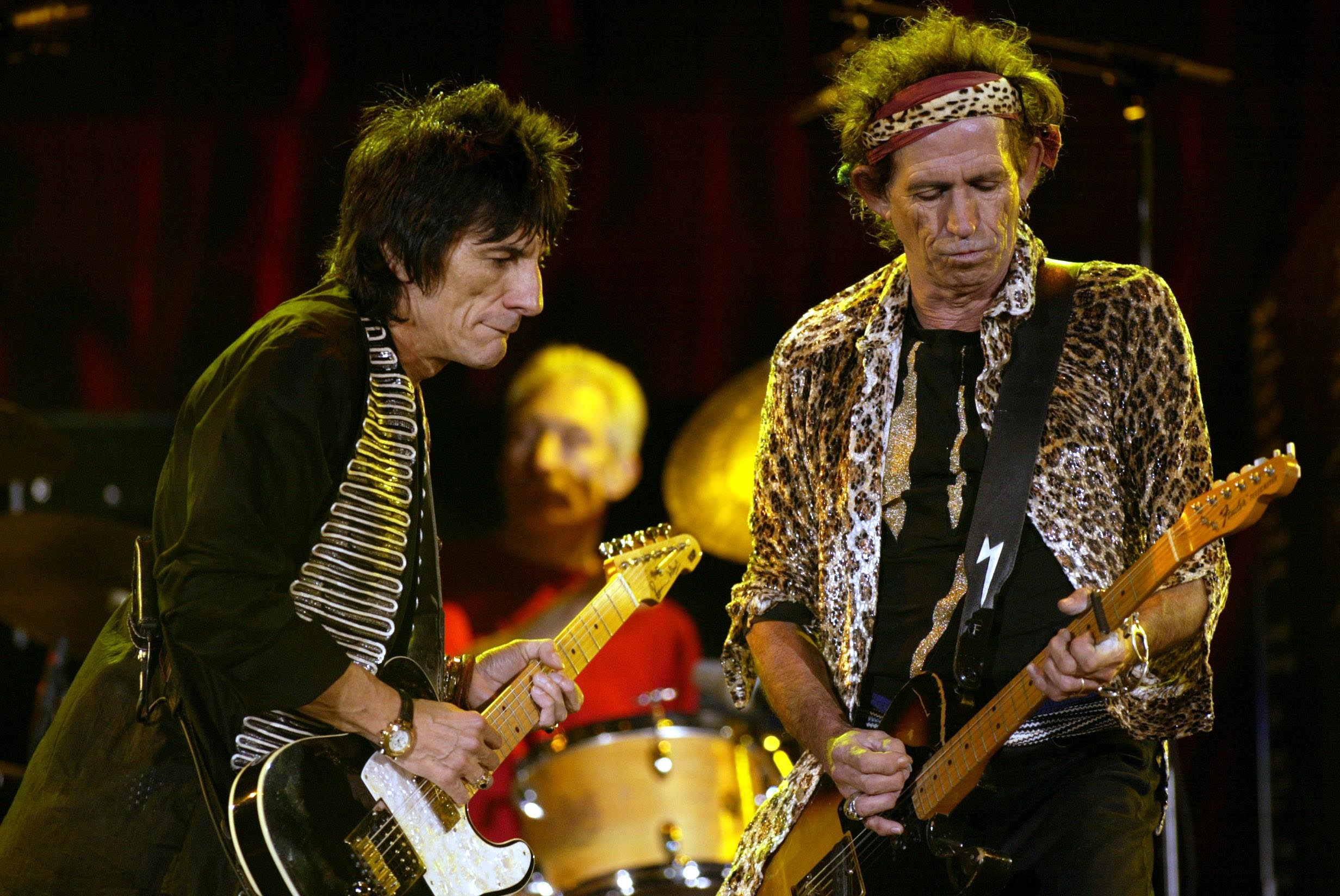 Keith Richards und Ron Wood