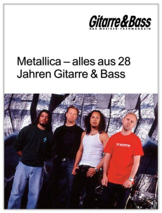 Metallica-Special von Gitarre & Bass