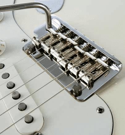 Messing Befestigung Brücke//Saitenhalter für 6 Strings E-Gitarre