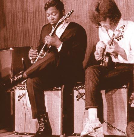 Clapton und King zusammen auf der Bühne