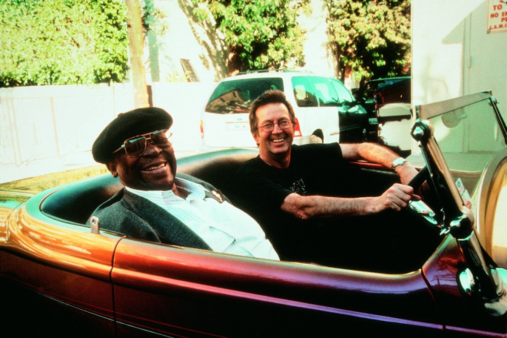 Clapton King zusammen im Autoi