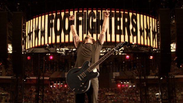 Dave Grohl vor einem Konzert