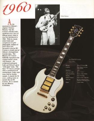 1994er Anzeige mit Carlos Santana