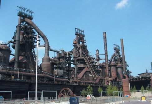 Hochöfen von Bethlehem Steel