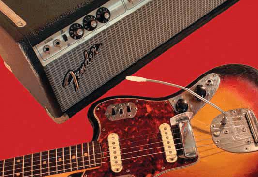 Fender Jaguar und Fender Amp