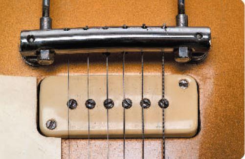 Stegtonabnehmer einer 52er Les Paul