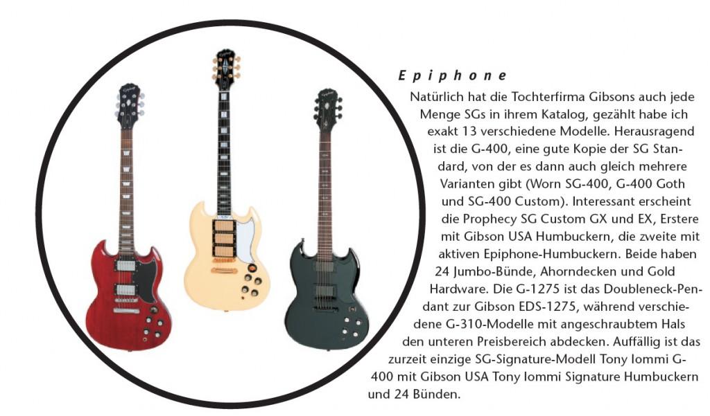 Epiphone SGs