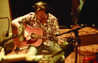 Eric Clapton im Studio