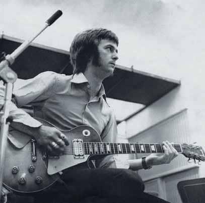 Eric Clapton an der Gitarre
