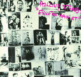 Exile On Main Street CD Cover
