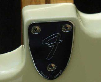Hals einer Fender Gitarre