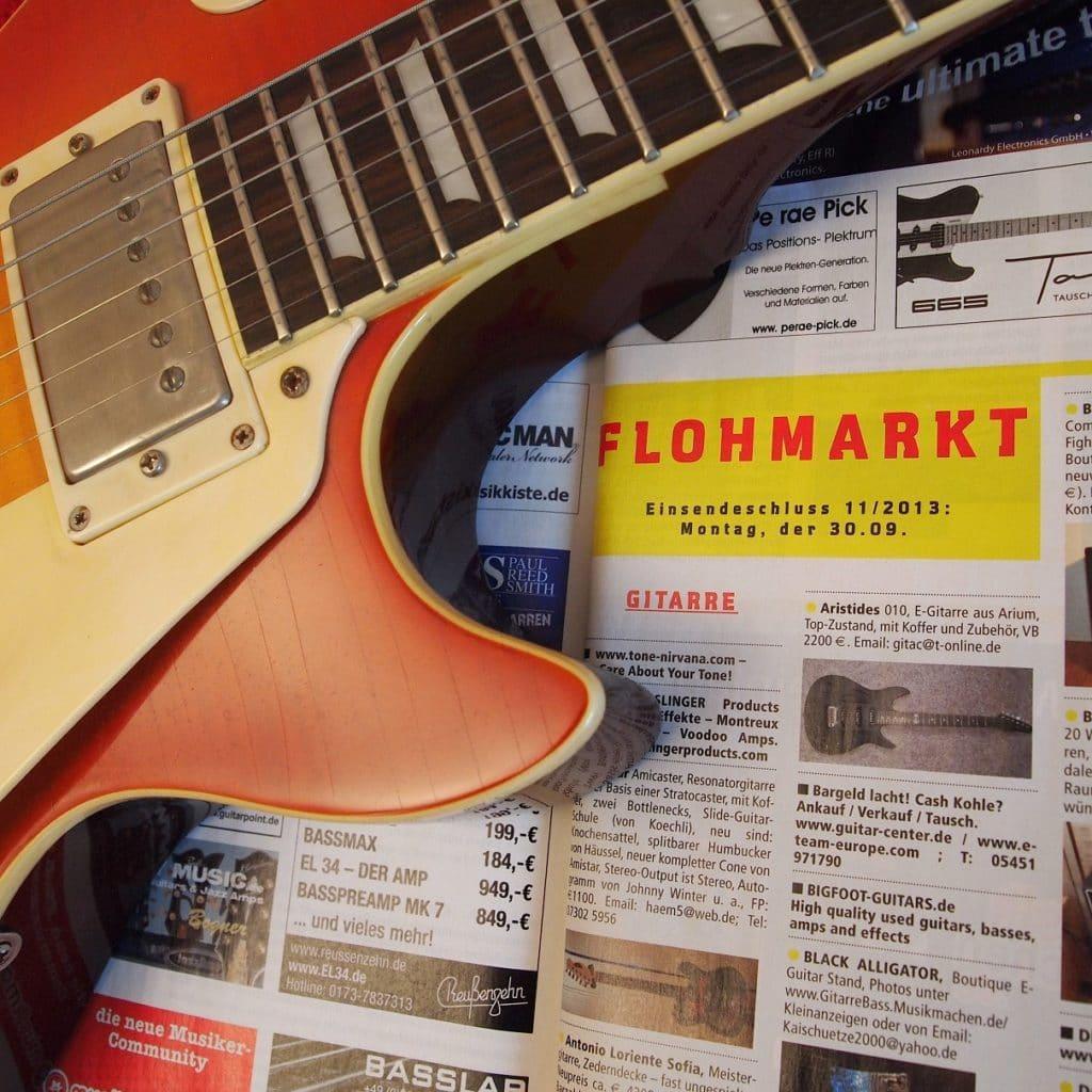 was ist beim verkaufen der gitarre zu beachten gitarre bass. Black Bedroom Furniture Sets. Home Design Ideas