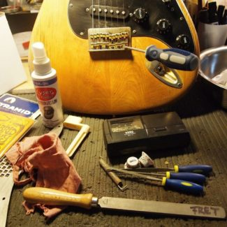 Werkzeug zum Gitarrentuning