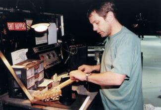 Gitarren-Tech-Lee-Dickson