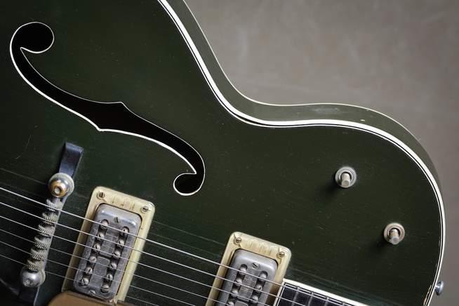 Grüne 1954 Gretsch Gitarre