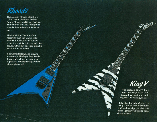 Jackson RR und King V 1989