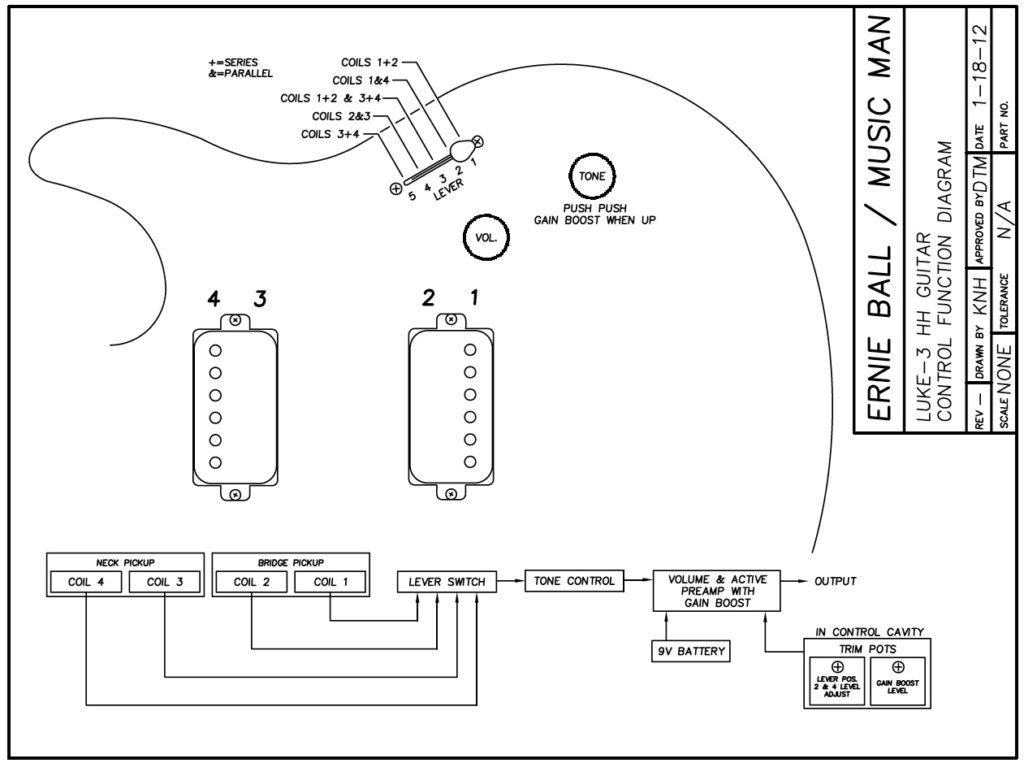 Beste Gitarre Pickup Schaltung Galerie - Elektrische Schaltplan ...