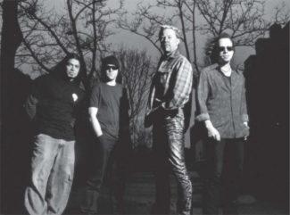 Metallica in Schwarzweiß