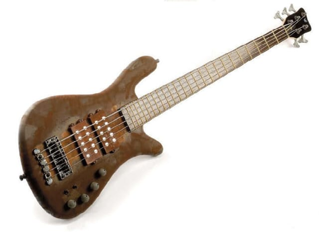 Warwick Bass in Braun
