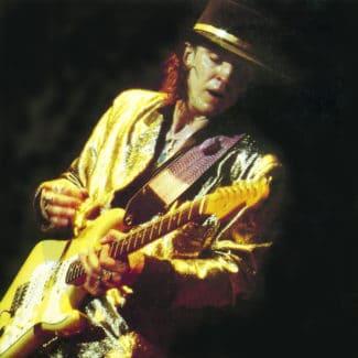 Stevie Ray Vaughan auf der Bühne
