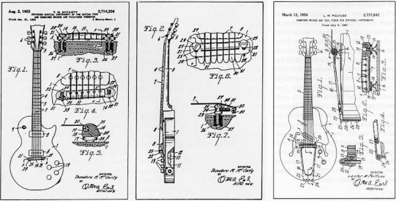 Ted McCartys Patentanmeldung