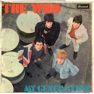 the who any generation cover