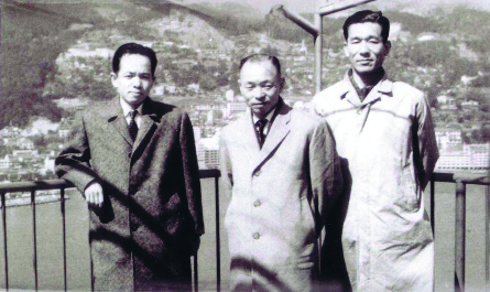 Yoshihiro, Jumpei und Masso Hoshino