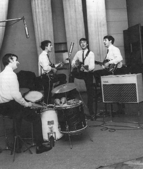 Beatles im Studio