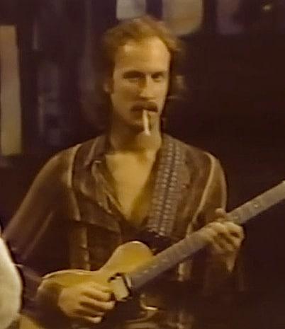 John Scofield in jungen Jahren in Montreux 1976