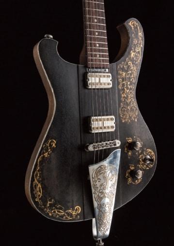 Nick Page Baron Gitarre