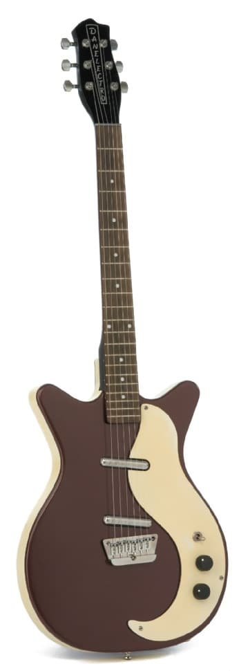 braune Gitarre
