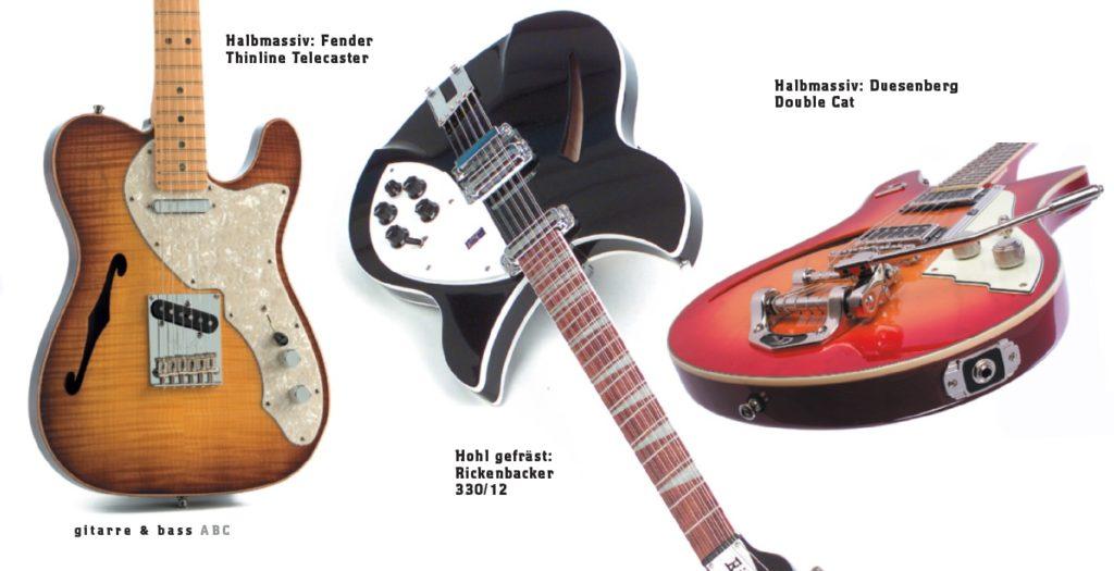 3 Gitarren