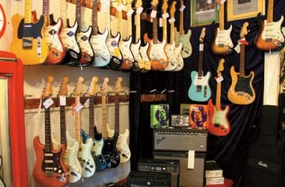 Fender Custom Shop Gitarren
