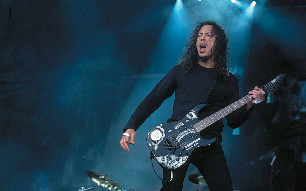 Kirk Hammet Live