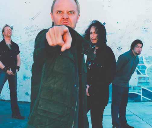 Metallica band foto