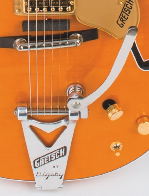 Bigsby ohne Andruckrolle