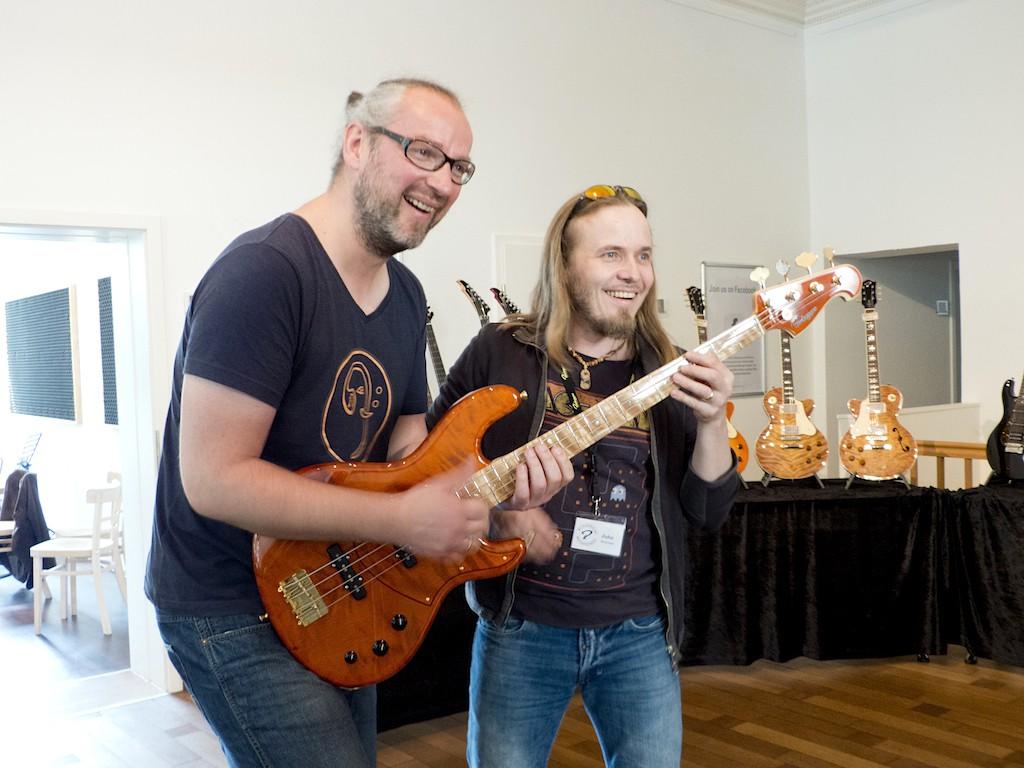Markus Setzer und Juha Ruokangas
