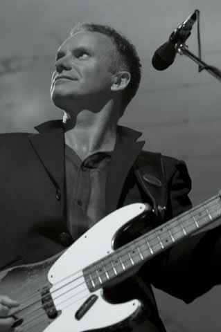 Sting auf der Bühne