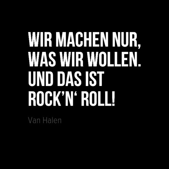 Zitat von Van Halen