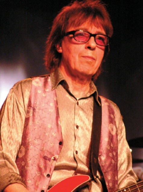 Bassist Bill Wyman