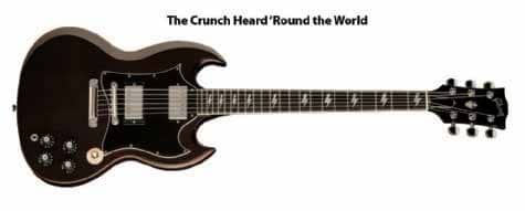 Gibson SG vom Angus Young