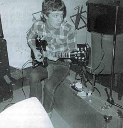 Angus Young in frühen Jahren