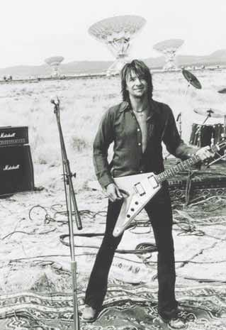 Richie Sambora mit Flying V