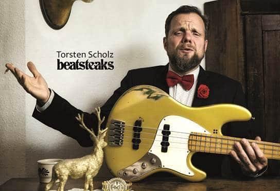 Torsten Scholz mit seinem Sandberg Bass