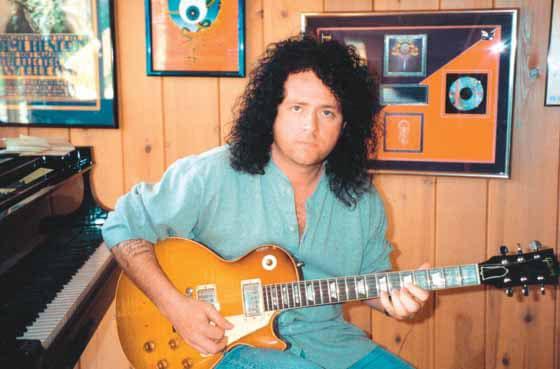 Steve Lukather in jungen Jahren